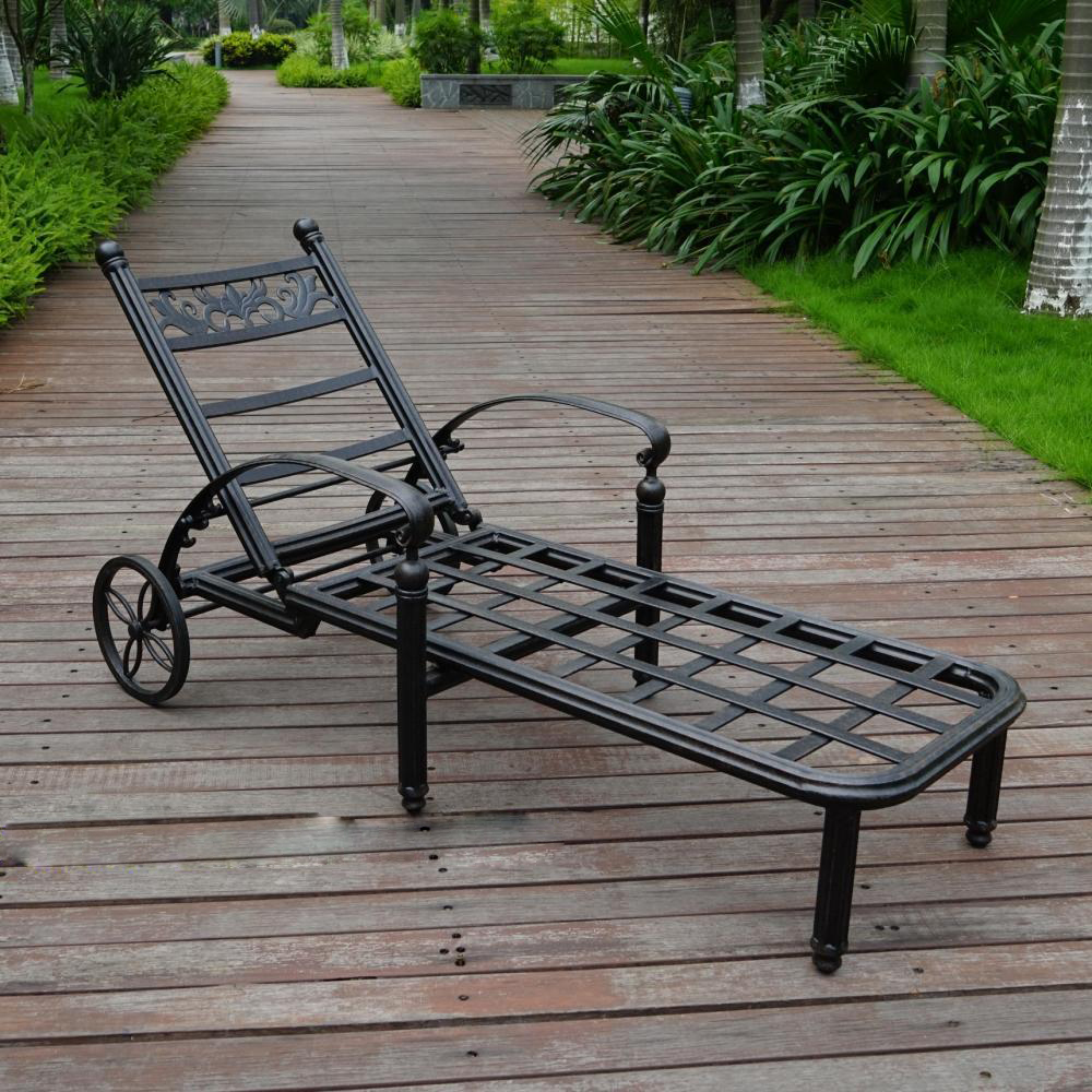 SY-3091 Cast aluminum lounger