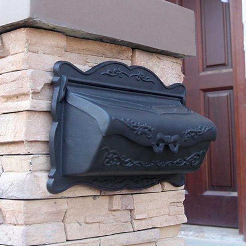 MB005 cast aluminum mail box