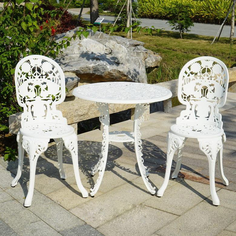 SY-9005TC cast aluminium furniture
