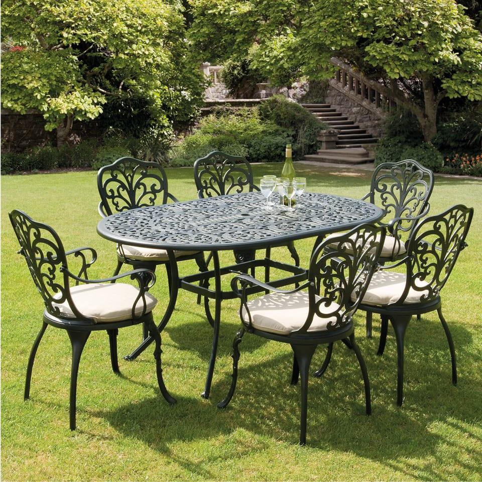 Gerden | Villa | Cast aluminum garden sets