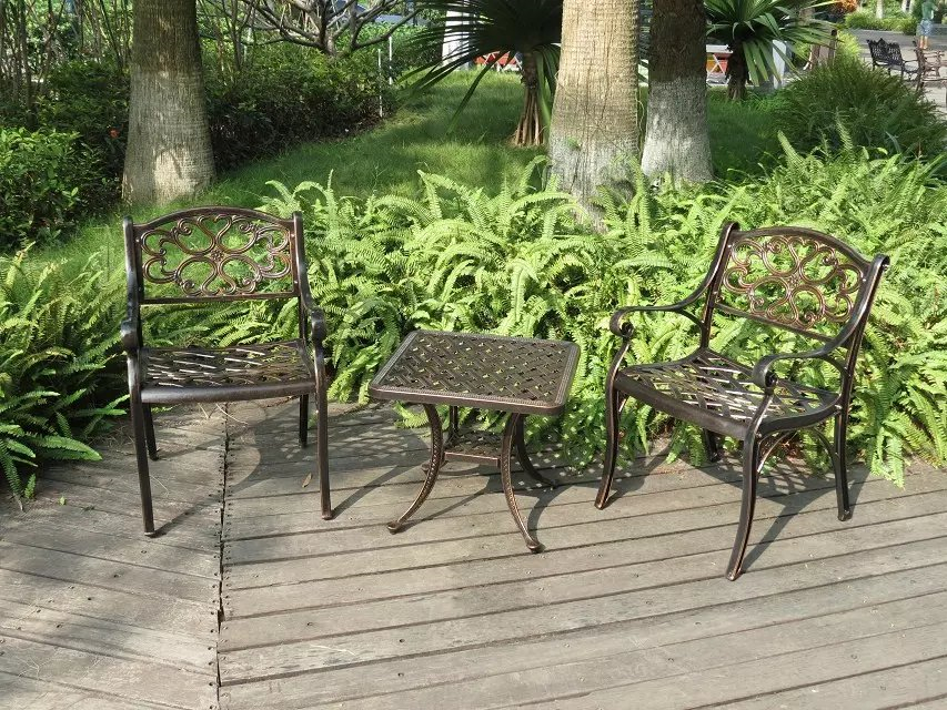 SY-9094T 9092C cast aluminium furniture