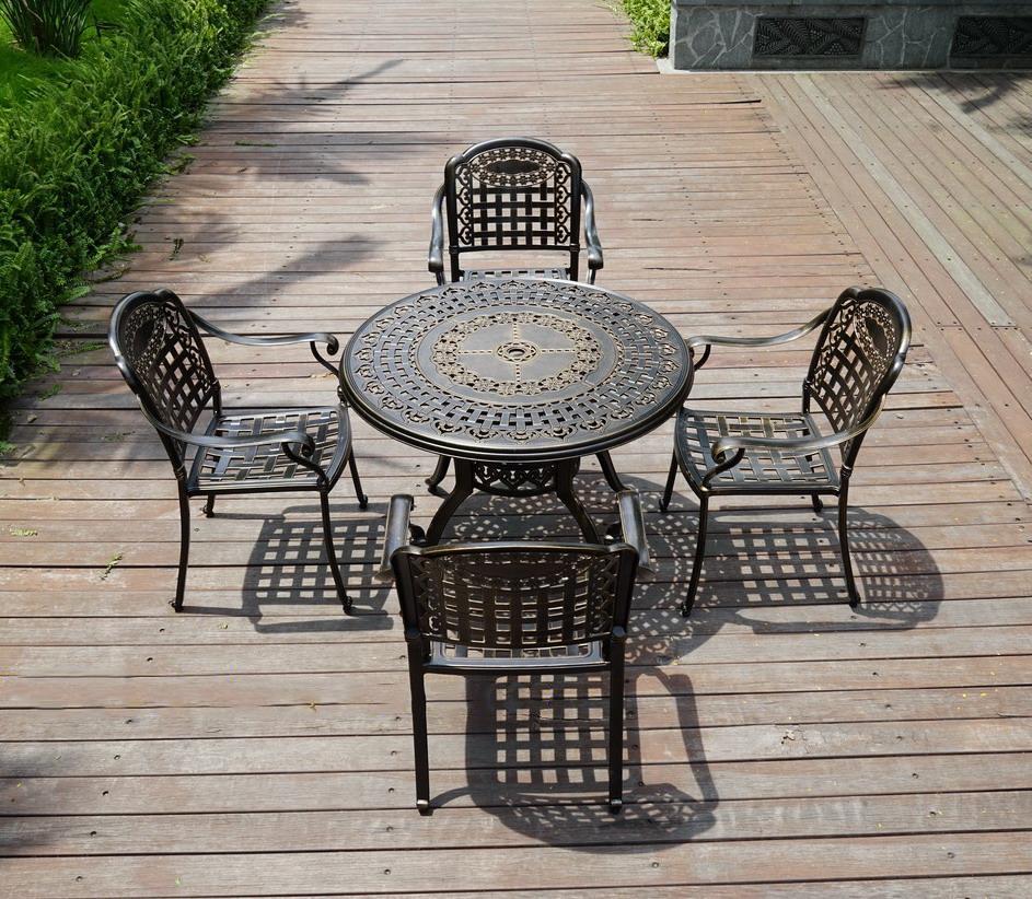 SY-9114TC cast aluminium furniture