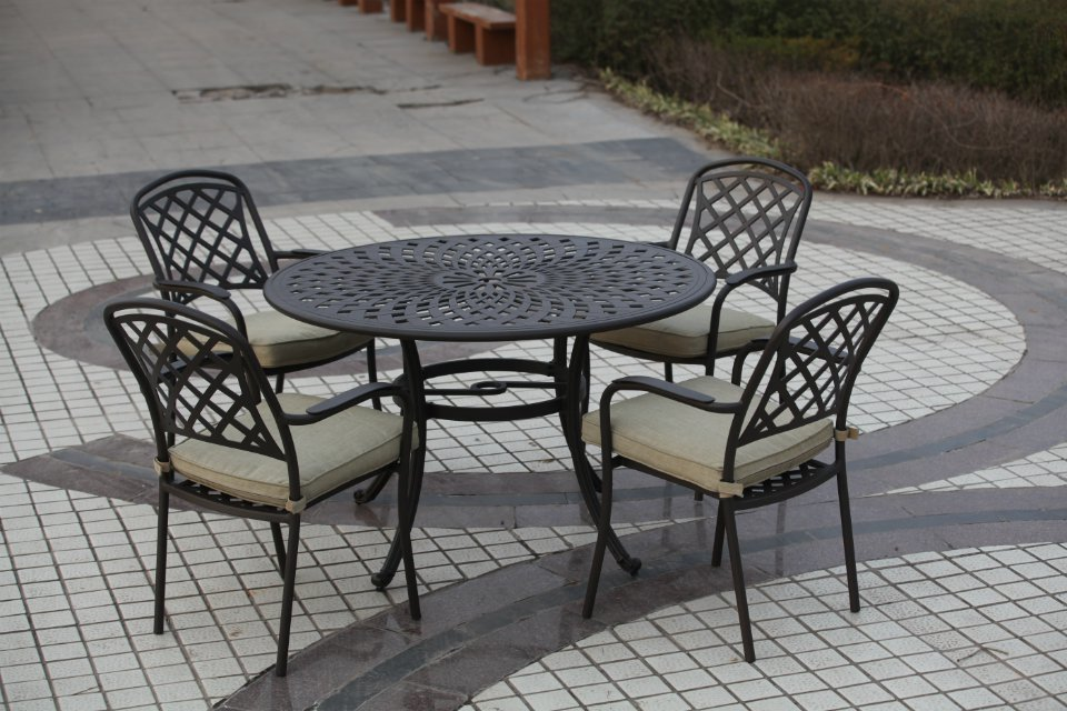 SY-9142T 9048C dining table and chair