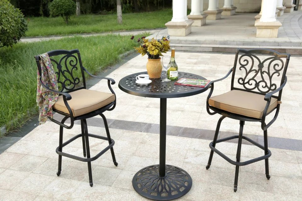 SY-9152TC cast aluminium furniture