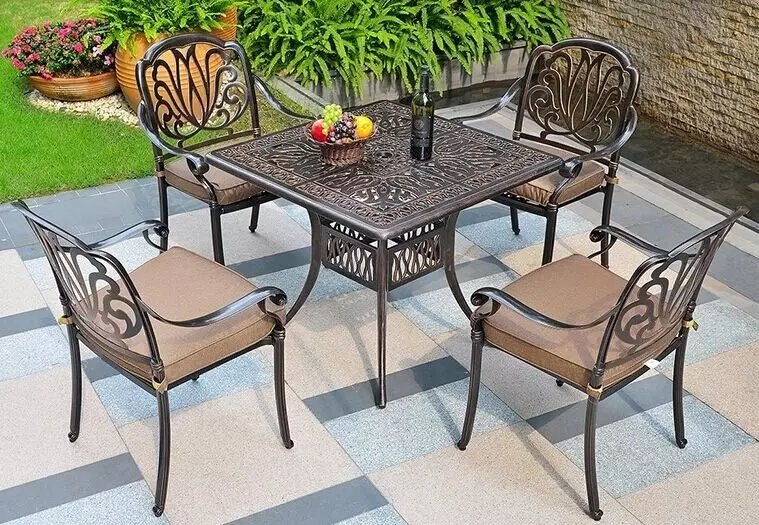SY-9192T 9002C dining table and chair