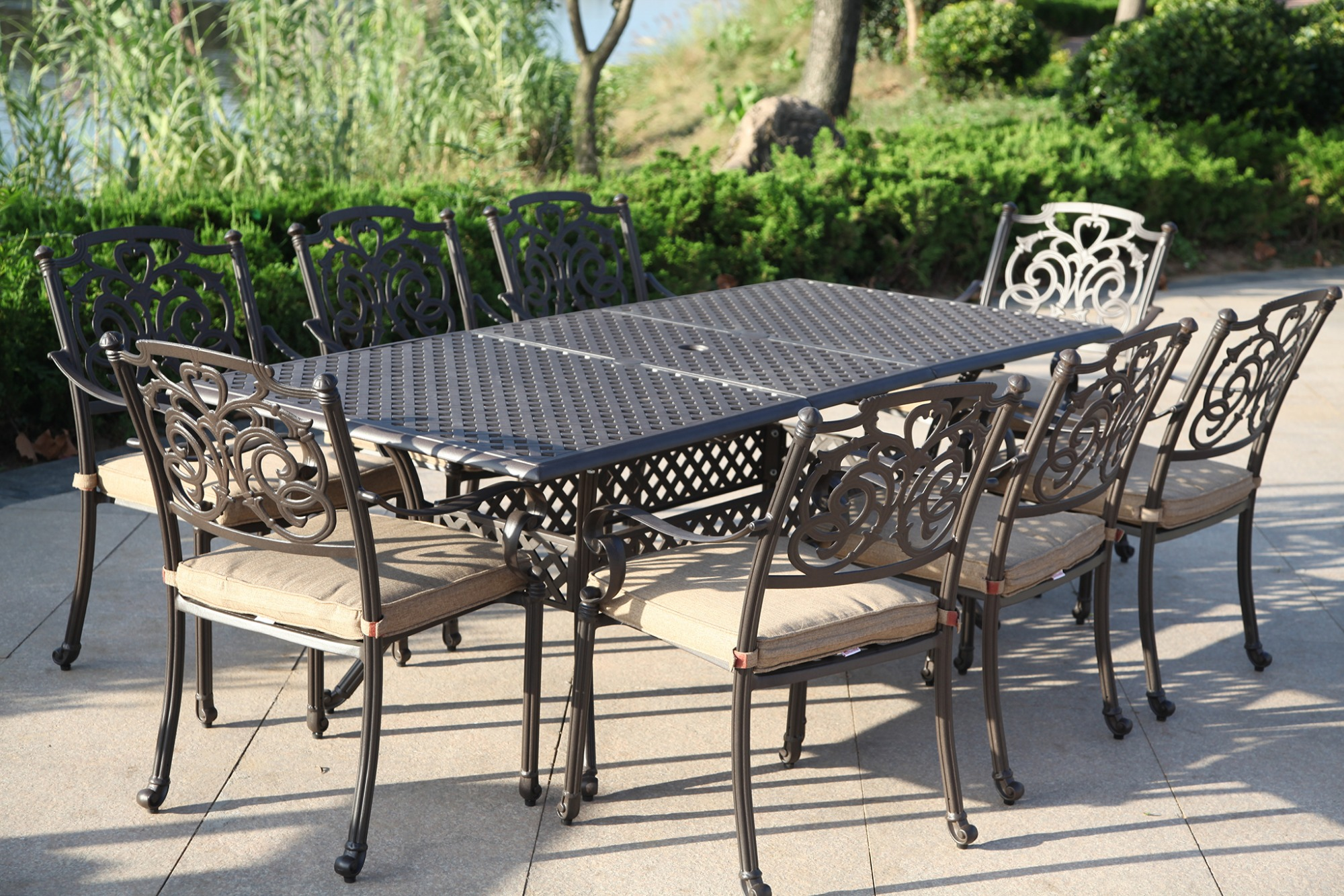 SY-9193T 9319C stretchable table set