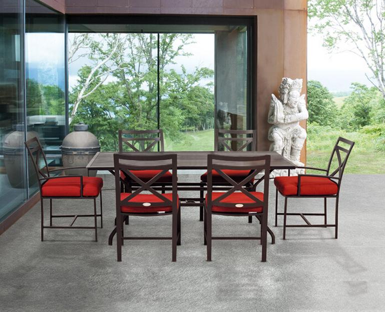 SY-9382T 9368C cast aluminum furniture