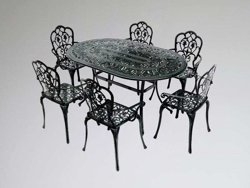 SY-9265T 9157C cast aluminum furniture