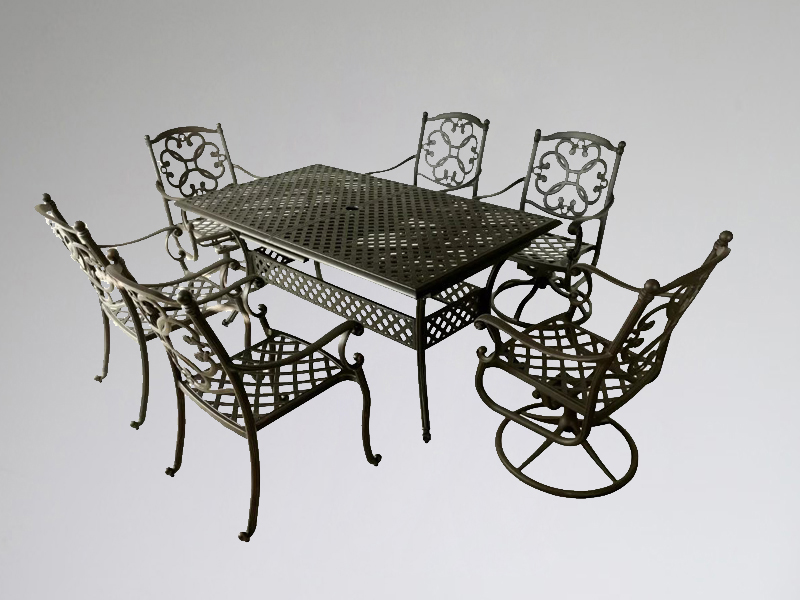 SY-9193T 9191C 9234C stretchable table set