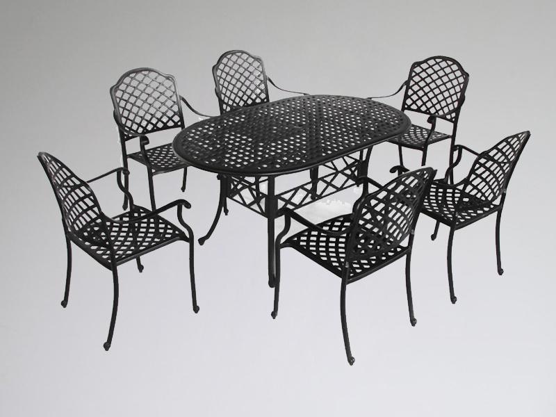 SY-9144TC cast aluminium furniture