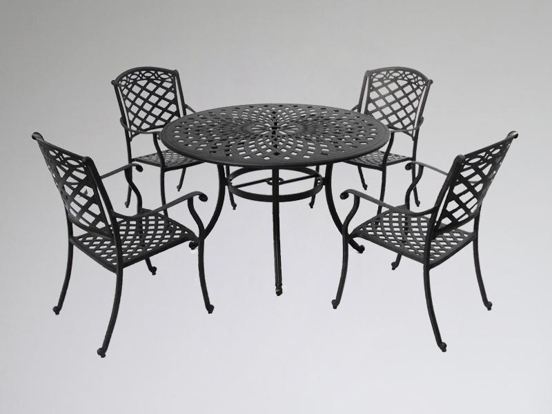 SY-9142T 9141C cast aluminium furniture