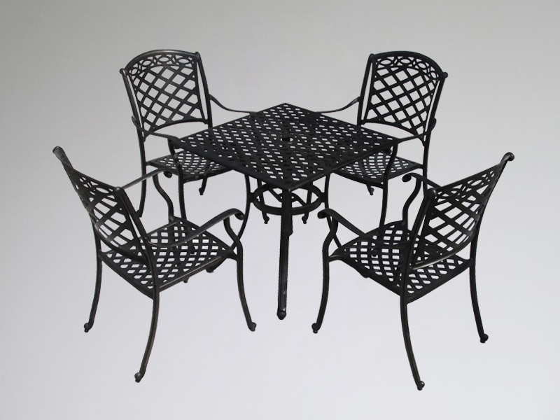 SY-9141TC cast aluminium furniture