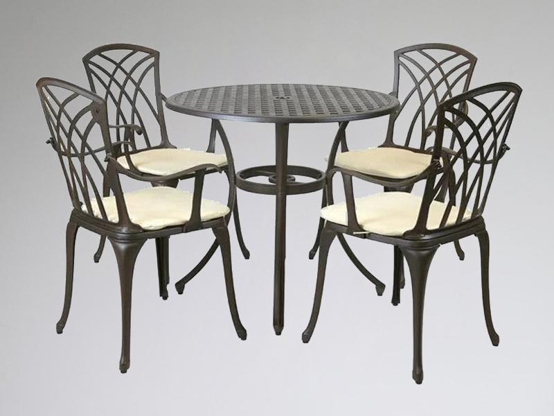 SY-9046TC cast aluminium furniture