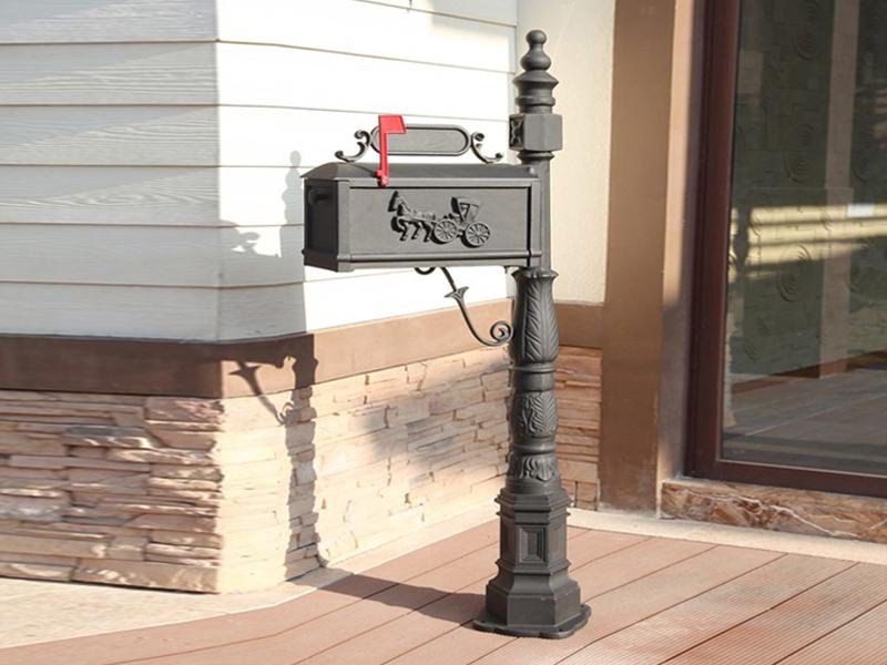 MB007 cast aluminum mail box