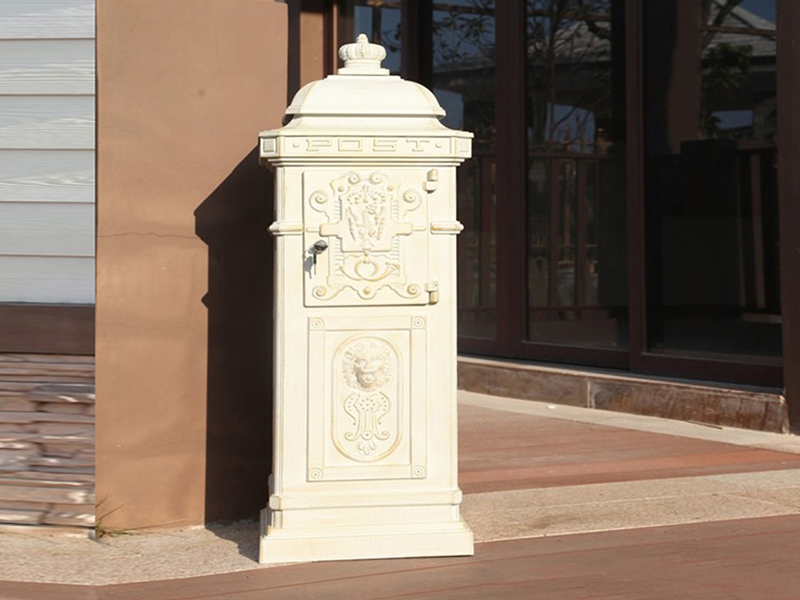MB006 cast aluminum mail box