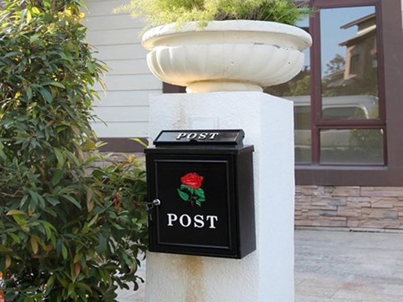 MB002 cast aluminum mail box