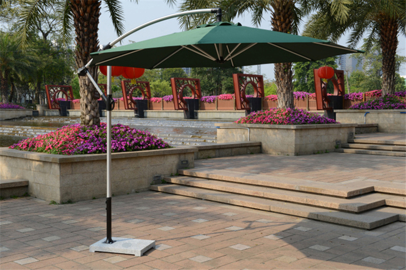 SY-6029 cantilever aluminium umbrella