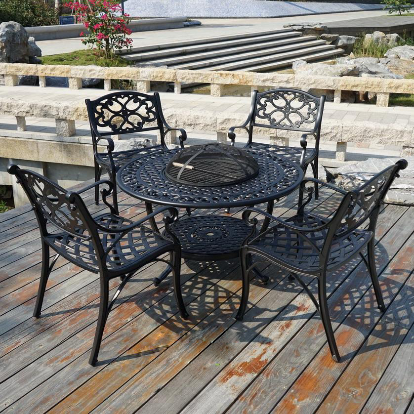 SY-9092TC cast aluminium furniture