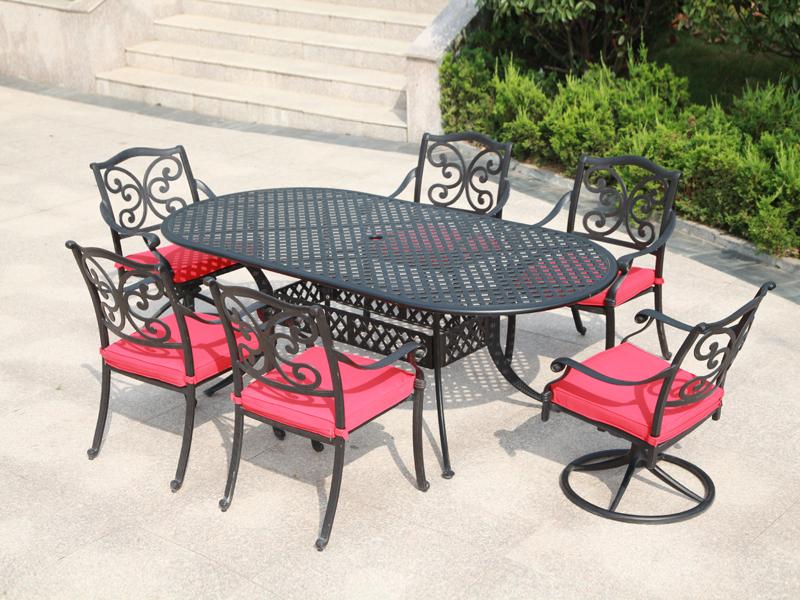 SY-9144T 9253C cast aluminium furniture