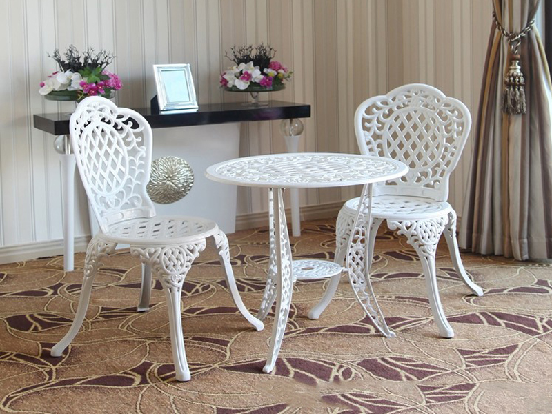 SY-9037TC cast aluminium furniture