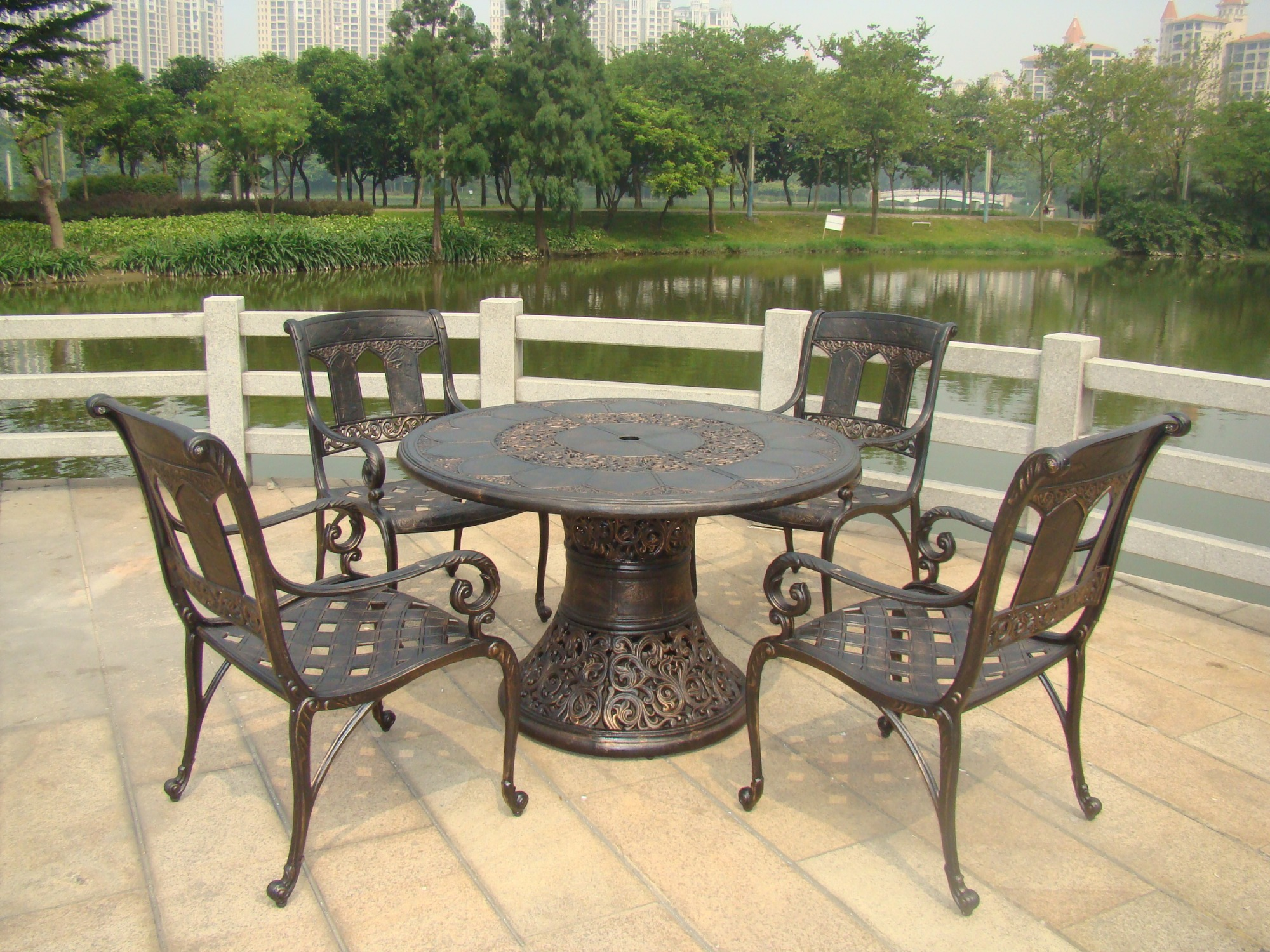 SY-9030TC cast aluminium furniture