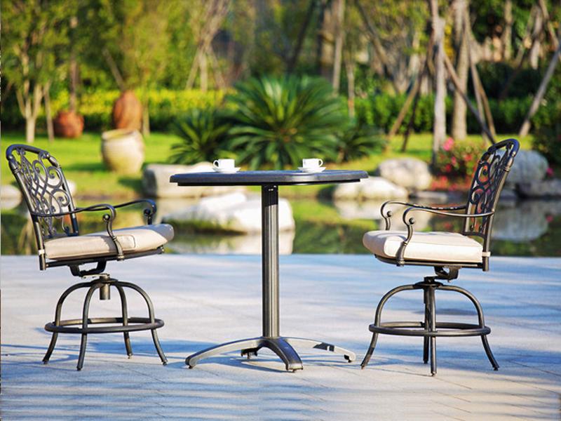 SY-9033TC cast aluminium furniture