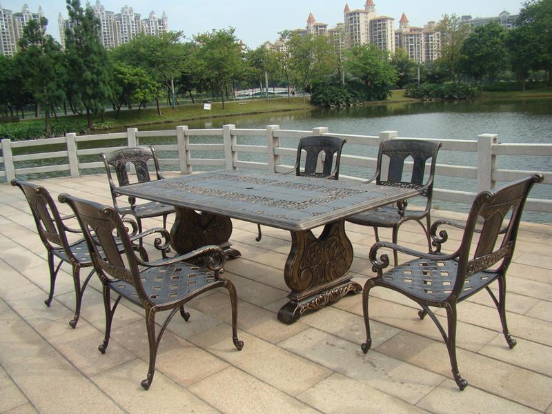 SY-9031T 9030C cast aluminium furniture