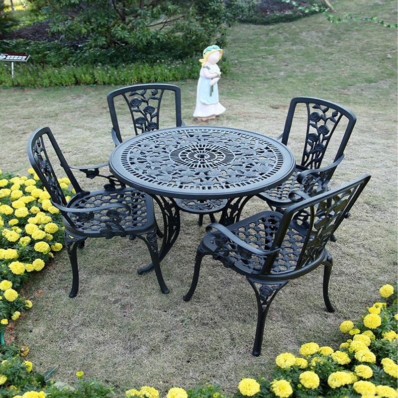 SY-9003TC cast aluminium furniture