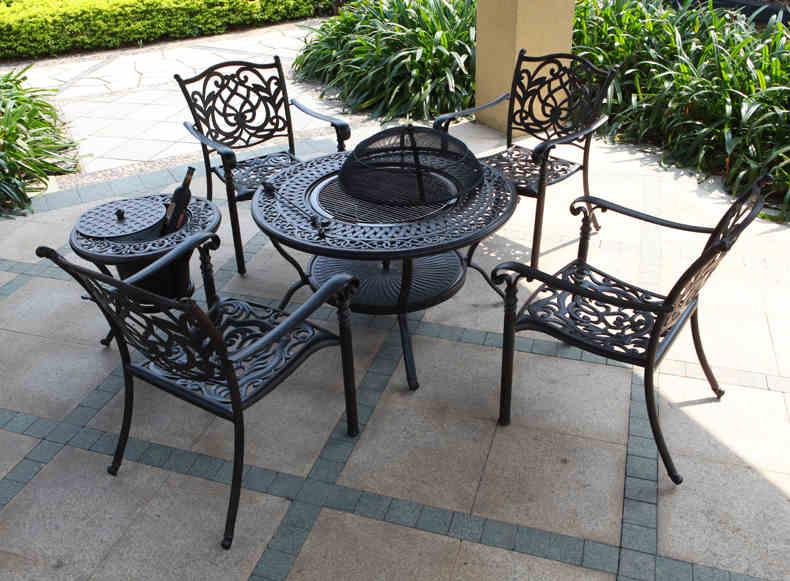 SY-9018TC cast aluminium furniture