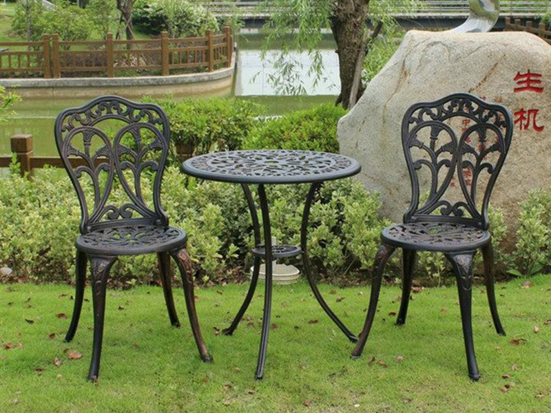 SY-9043TC cast aluminium furniture